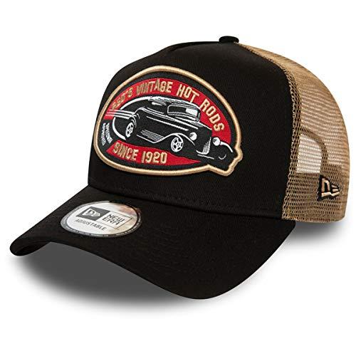 New Era Hot Rod Trucker Pack BRW Gorra, Unisex Adulto, Brown, Talla...