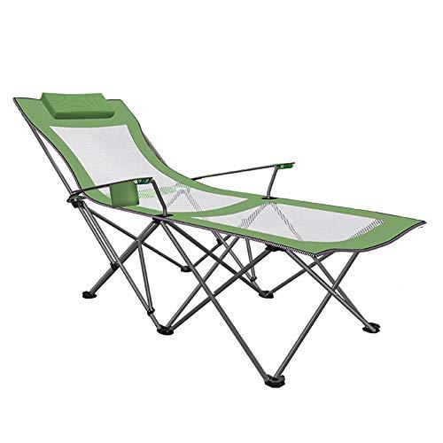 Acampar Salón Silla reclinable Plegable de Descanso en la Playa al Aire Libre sillas de Pesca Oficina de Hogares portátil Plegable de la Siesta Silla,Style 5