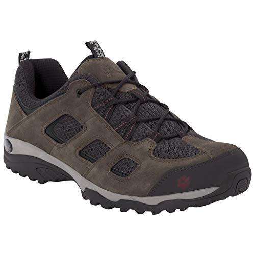 Jack Wolfskin Herren Vojo Hike 2 Low M Trekking-& Wanderhalbschuhe, Braun (Coconut Brown/Dark Steel 5211), 43 EU