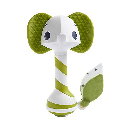 Tiny Love Samuel L'elefantino, Sonaglio Neonato con Massaggia Gengive, Verde