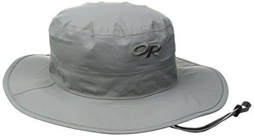 Outdoor Research Helios Rain Hat, Pewter, Medium