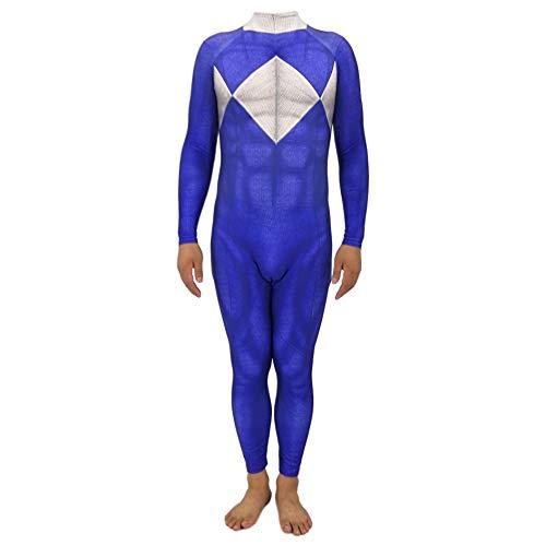 - Blue Power Ranger Erwachsene Kostüme