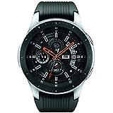 Samsung Galaxy Watch smartwatch (46mm, GPS, Bluetooth, Wifi) – Silver/Black (US Version with Warranty) (SM-R800NZSAXAR)