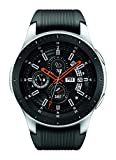 Samsung Galaxy Watch (46mm, GPS, Bluetooth) - Silber/Schwarz (US-Version)