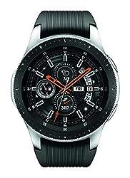Image of Samsung Galaxy Watch (46mm, GPS, Bluetooth) – Silver/Black (US Version): Bestviewsreviews