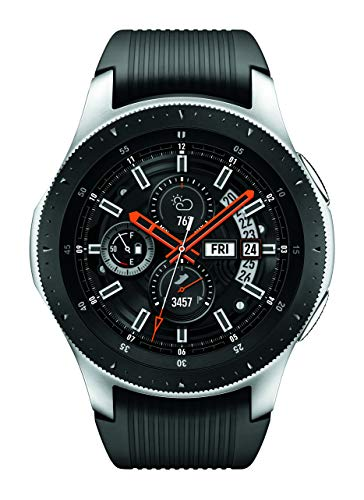 Samsung Galaxy Watch (46mm, GPS, Bluetooth) – Silver/Black...