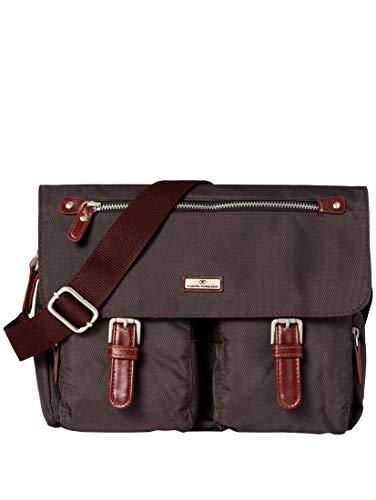 TOM TAILOR Damen Taschen & Geldbörsen Schulter-Tasche aus Nylon braun/brown,OneSize
