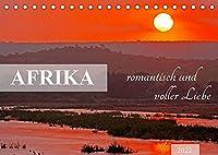 AFRIKA romantisch und voller Liebe (Tischkalender 2022 DIN A5 quer): Bezauberndes Licht, liebevolle Tiere (Monatskalender, 14 Seiten )