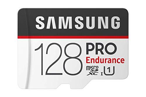 Samsung MB-MJ128GA/EU PRO Endurance 128 GB microSDXC UHS-I U1 Speicherkarte inkl. SD-Adapter Schwarz/Weiß