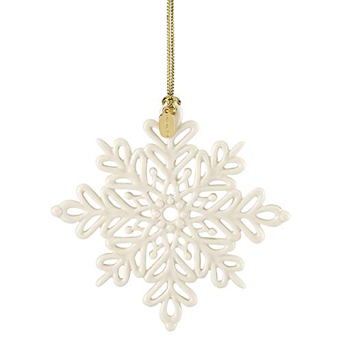 Lenox 884554 2019 Snow Fantasies Snowflake Ornament
