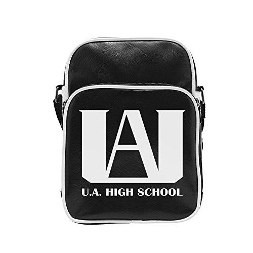 ABYstyle–My Hero Academia Bolsa bandolera vinilo–u.a. Emblem Unisex adulto, 20x 27x 7cm, abybag268 , color/modelo surtido