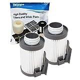 HQRP Waschbarer Filter Kompatibel mit Eureka Optima 431431bx 431F 437AZ 431dx 431F 437AZ