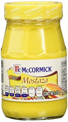 McCormick Mostaza Frasco, 210 g
