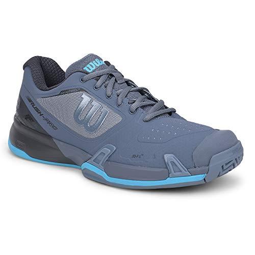 Wilson Calzado de Tenis para Hombre, Flint Stone/Ebony/Ultra Blue, 9 US