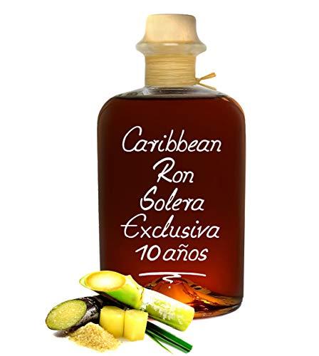 Rum Spirit 10 Jahre Solera Exclusiva 0,5L Explosion karibischer Aromen & sehr weich 40% Vol