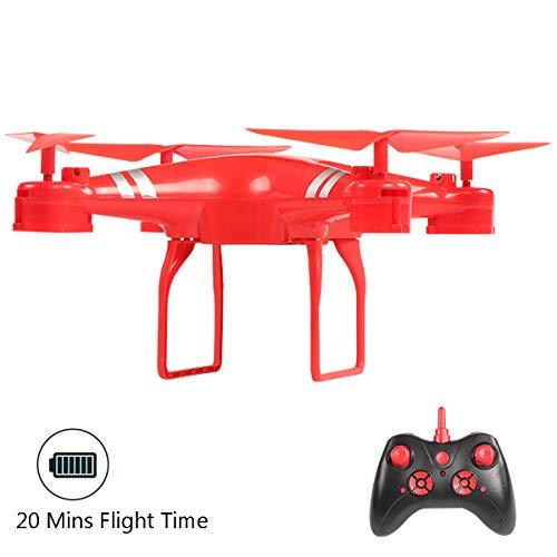 APJS KY101D UAV RC Juguetes Drone Acrobatico con Teledirigido y Alcance de 200 Metros, Principiantes Drones Follow Me Helicopter, Una Tecla de Despegue/Aterrizaje, Gravedad Sensor