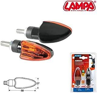 90078 KINESIS LAMPA INDICATORE DIREZIONE LUCE ALOGENA HUSQVARNA OMOLOGATI 12V MOTO CARBON