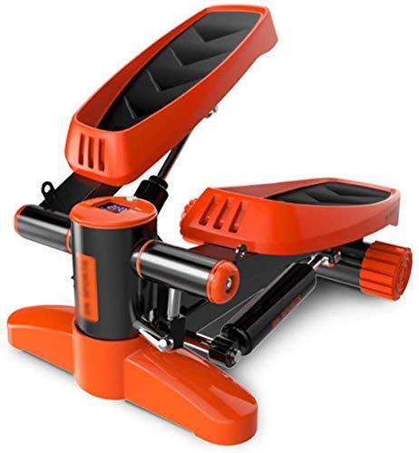 DPPAN Máquina de Step Swing, Stepper Fitness con Pantalla LCD Mini Stepper...