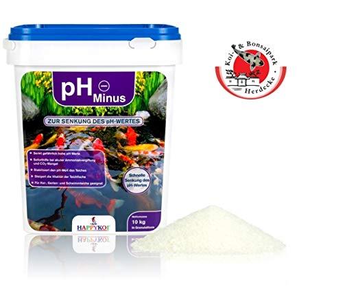 HAPPYKOI® pH Minus zur Senkung des pH Wertes im Teich in Granulatform HAPPYKOI® pH Minus Ph Minus 5 kg
