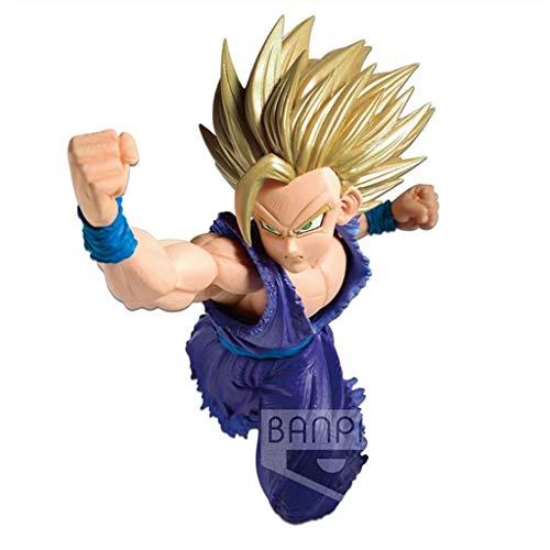 CJH Dragon Ball Z: Son Gohan (Super Saiyan 2) Figura de acción Modelo de Juguete de Regalo Decoración de Dragon Ball Ordenadores muñeca Adornos