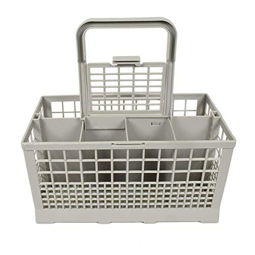 Caja de almacenamiento universal cuadrada ligera para lavavajillas portátil Canasta de cubiertos para lavavajillas Venta caliente europea americana - Gris
