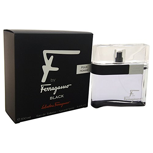 Salvatore Ferragamo F Black EDT Spray, 3,4 oz