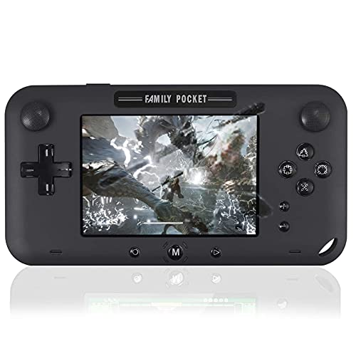 Joseky Handheld Game Console, Portable Game Player Built-in 208 HD Classic Games 4' LCD Retro Gaming...