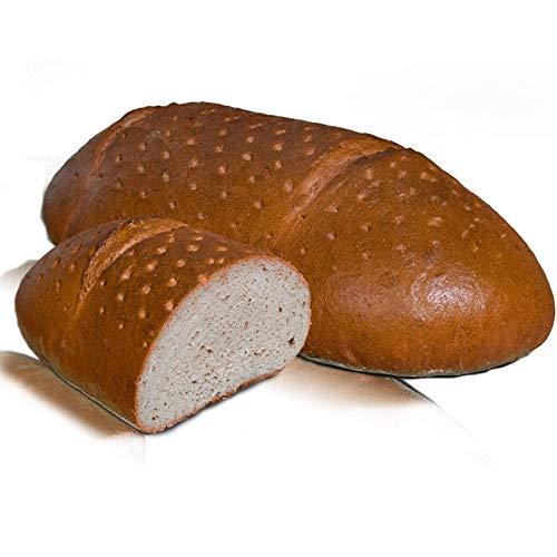 Vestakorn Handwerksbrot, Roggenmischbrot 2kg - frisches Brot – Natursauerteig, selbst aufbacken in 10 Minuten