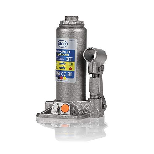 alca® Unterstellheber hydraulisch Wagenheber 3t Stempel-Wagenheber für SUV/PKW Hubhöhe 19,5-38cm