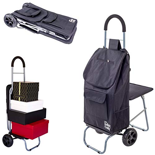 Dbest Products Trolley Dolly With Seat