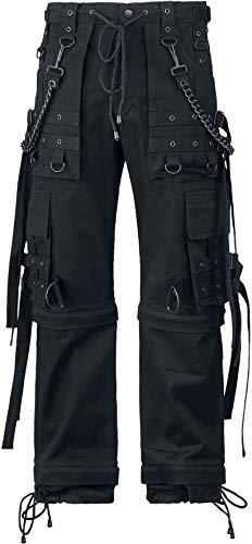 Gothicana by EMP Abaddon Männer Cargohose schwarz W30L34 100% Baumwolle Gothic, Industrial, Rockwear