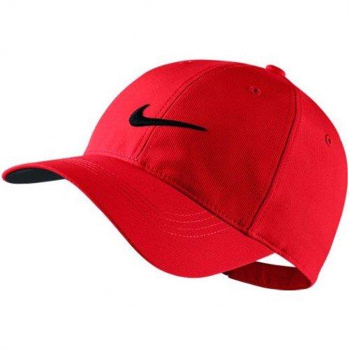 NIKE Mens Golf Legacy91 Tech Adjustable Hat (University/ Red...
