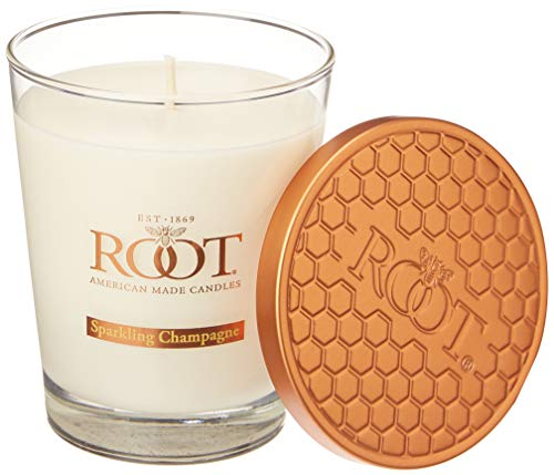 Root Scented Beeswax Candle, Sparkling Champagne, L