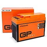 GP-PRO GTR4A-BS 12V 2.3Ah GEL-Batterie Rollerbatterie Akkumulator Roller für u.a.