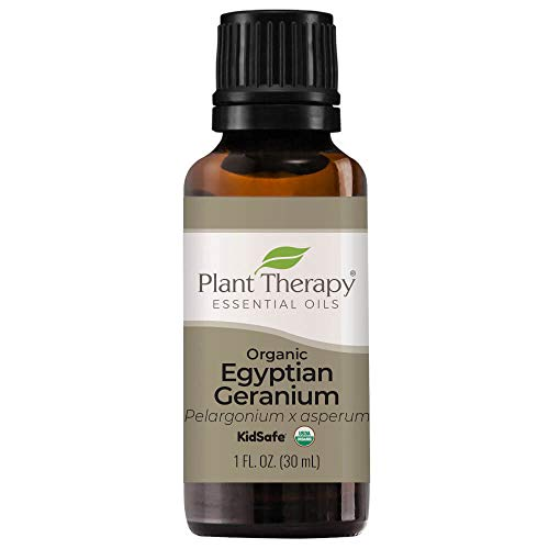 Plant Therapy Organic Egyptian Geranium Essential Oil 100% Pure, USDA...