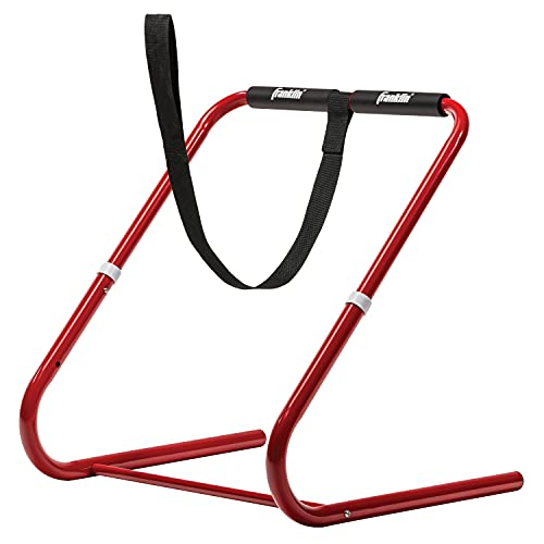 Franklin Sports Ice Skating Steel Trainer for Kids - Lightweight and Adjustable - Towing Leash Included