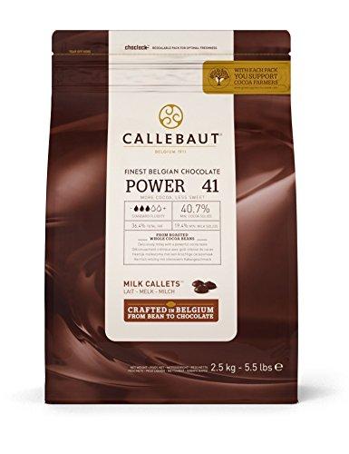 Callebaut 2,5kg Milch 41% Power Easimelt Schokoladenstückchen