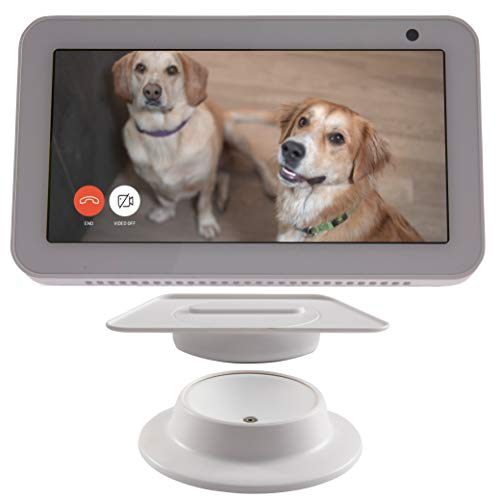 Made for Amazon  Tilt + Swivel Stand for the Echo Show 8 - White