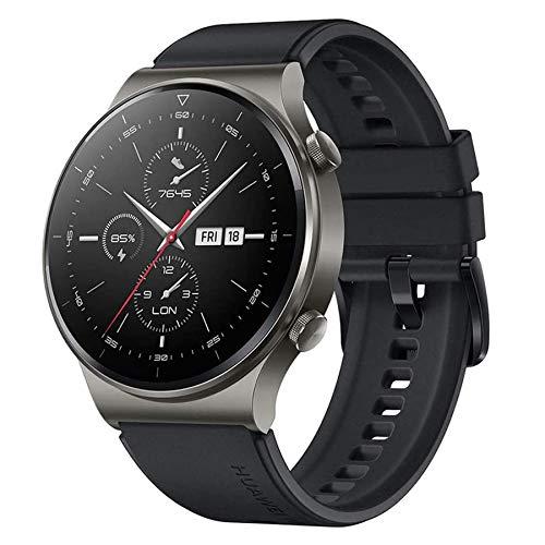 HUAWEI Watch GT 2 Pro Reloj Inteligente con Pantalla táctil AMOLED de 1,39 Pulgadas, GPS Deportivo, duración de batería de 14 días, Llamadas Bluetooth a Prueba de Agua, Negro