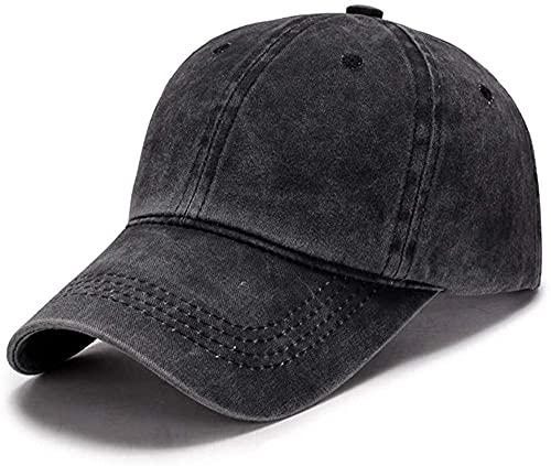 Wennmole Unisex Jungen Mädchen Mütze Baseball Cap Hut Baby Kleinkind Kinder Kappe (schwarz, 2-7 Jahre)