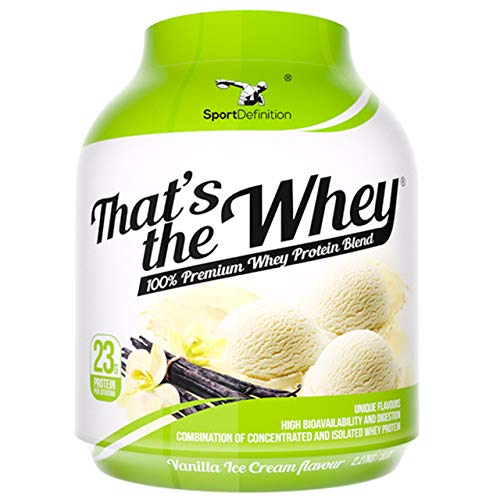 Sport Definition Thats The Whey 2270g Molkenprotein Pulver Powder Muskel Muskelaufbau (Vanilla Ice Cream)