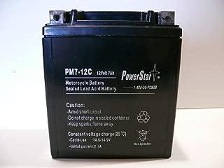 PowerStar AGM Ytx7l-bs Battery for Honda Nx125 Nx250 Cb600f Cb250 88-10 Cb600f Rebel Cmx250c 250 Nighthawk Nx Sh150 96-10 Suzuki Dr350se Dr350 Dr125 94-99 Dr200 Gz250 Kawasaki Kfx450r Klx250s Kl250 Ex250 Ninja Super Sherpa