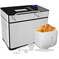 KBS 750W Bread Maker with Auto Fruit Nut Dispenser with Nonstick Ceramic Pot