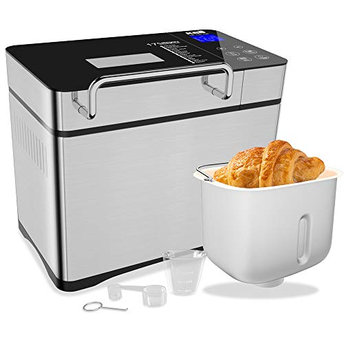 KBS 750W Bread Maker with Auto Fruit Nut Dispenser,...