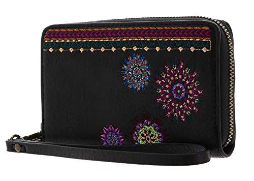 Desigual Damen Astoria Mini Portemonnaie, Größe M (US), schwarz, Einheitsgröße