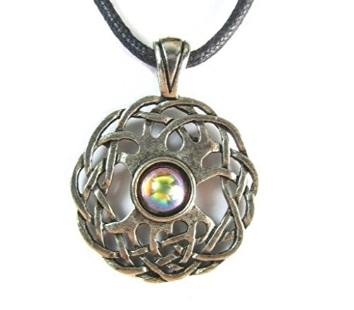 Creative Ventures Jewelry Celtic Sexuality Pewter Pendant on Corded Necklace, Celtic Harmony Collection