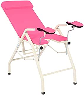 Adjustable Exam Table Medical Gynecological Bed Examination Chair, Folding Medical Treatment Bed,Folding Portable Outpatie...