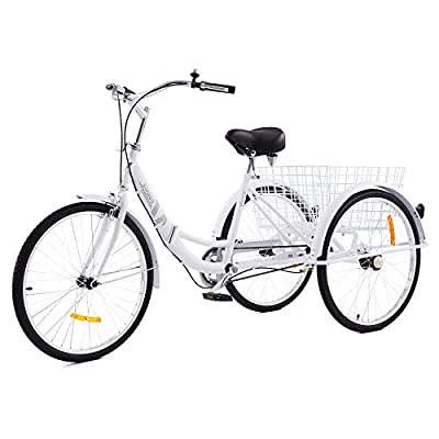 """Viribus Adult Tricycle with Carbon Steel Frame 
