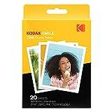 """Kodak Papel de impresión fotográfica Zink 3,5""""x4,25"""" (20 Hojas) Compatible con..."""
