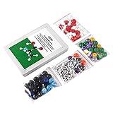 gfjfghfjfh Modelo Molecular Kit 239 PCS, OCDAY Química Orgánica e Inorgánica Modelo Molecular Student Set (86 átomos y 153 Partes de Enlaces)